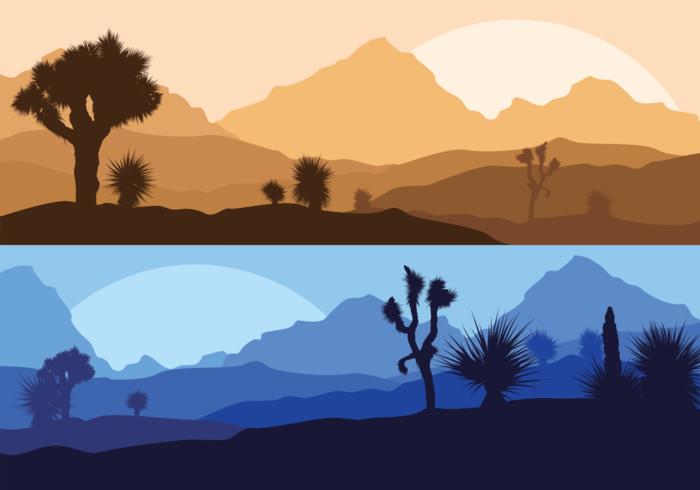 Yucca Silhouette Illustration