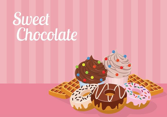 Sweet Chocolate Vector