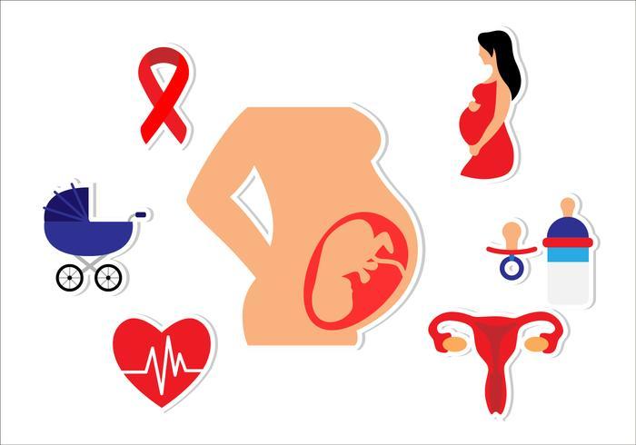 Schwangerschafts-Wohnung Icon
