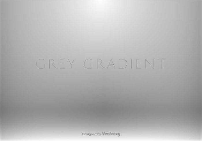 Grey Gradient Background - Vector