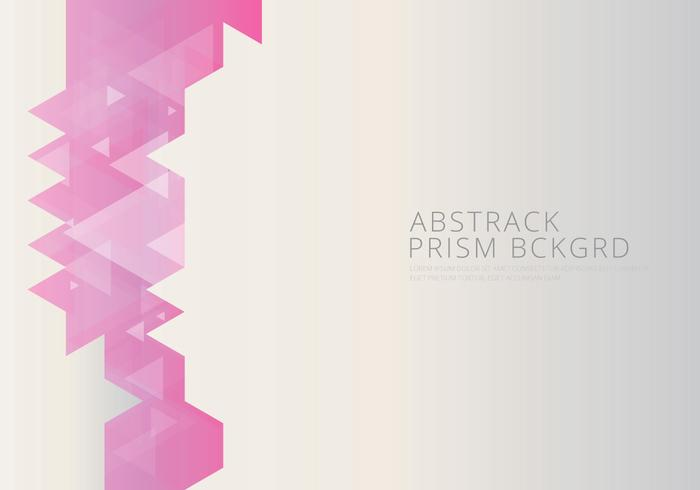 Abstract Prism Background and Text Template