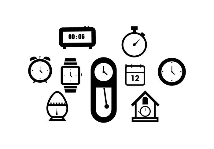 Free Time Icon Vector
