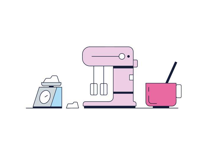 Free Mixer Vector