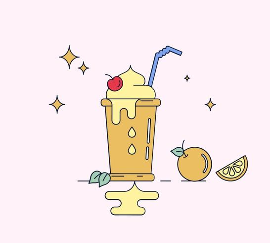 Free Smoothie Vector
