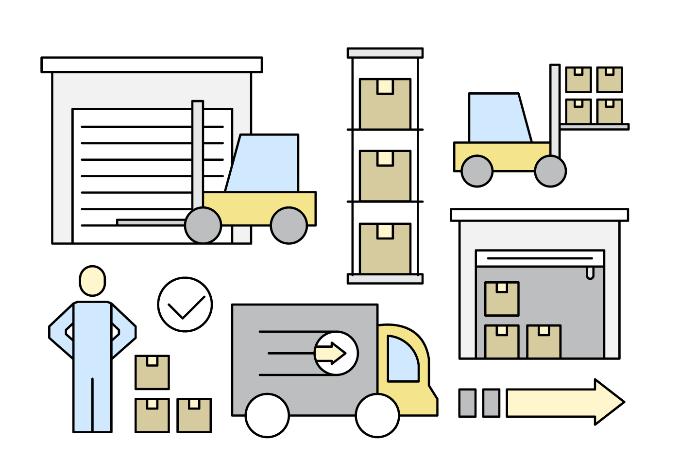 Warehouse Free Vector Art - (594 Free Downloads)