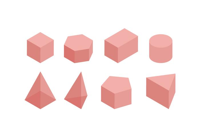 Mathematical 3D Shapes