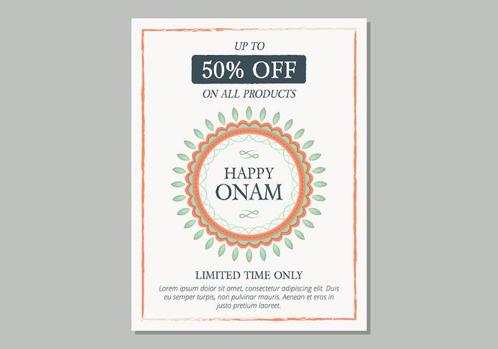 onam sale poster template download free vector art stock graphics