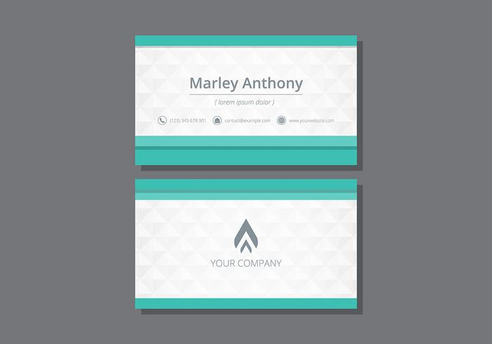 tarjetas  name card template