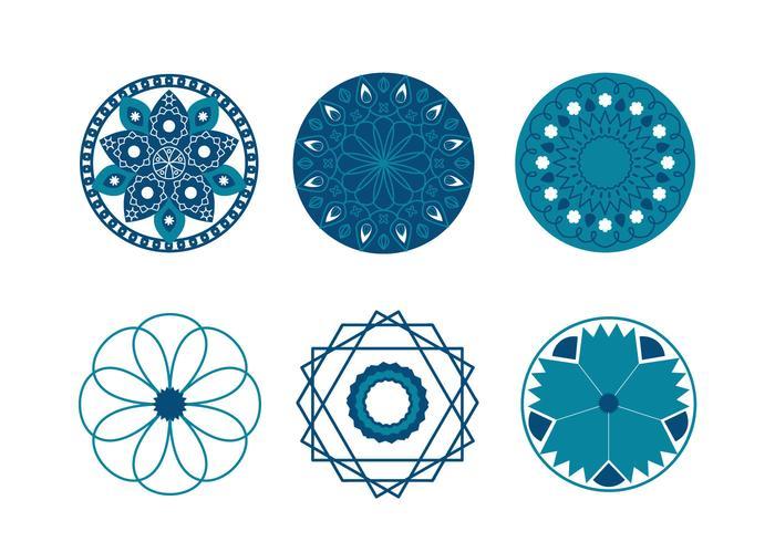 Geometric Islamic Symbols Vector Download Free Vector Art Stock