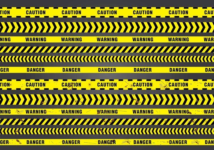 Seamless Danger Tape