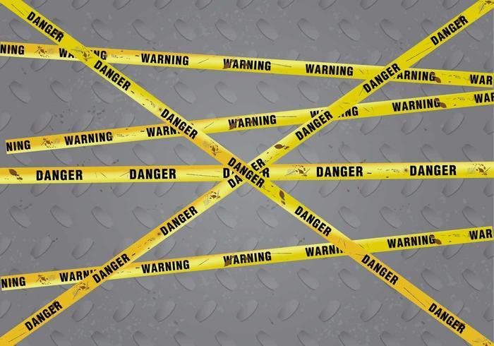 Oxidada de peligro del peligro de vectores de fondo