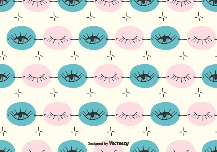 Doodle Eye Pattern