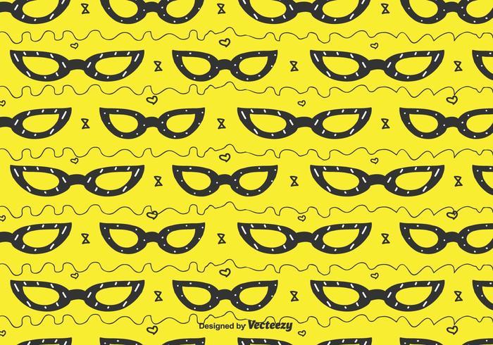 Cat Eye Glasses Pattern