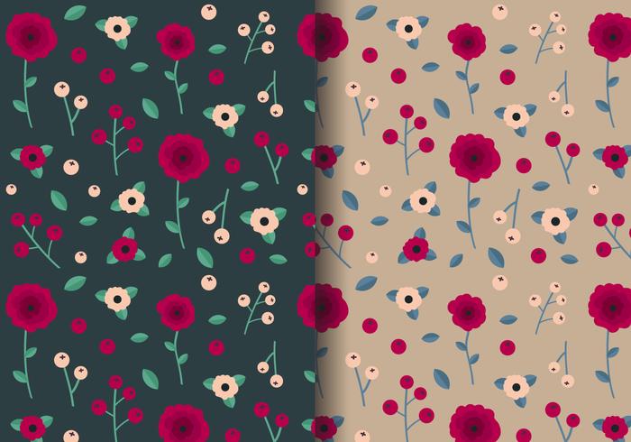 Livre Padrão Rose Vintage