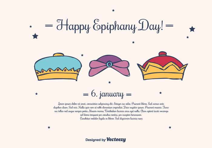 Epiphany Vector Background