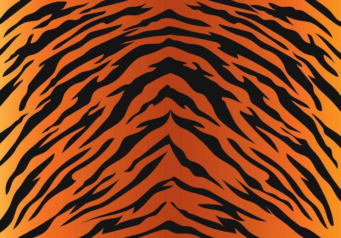 Tiger-Streifen-Muster