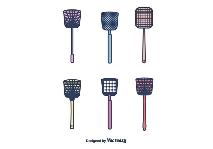 Fly Swatter Vector Pack