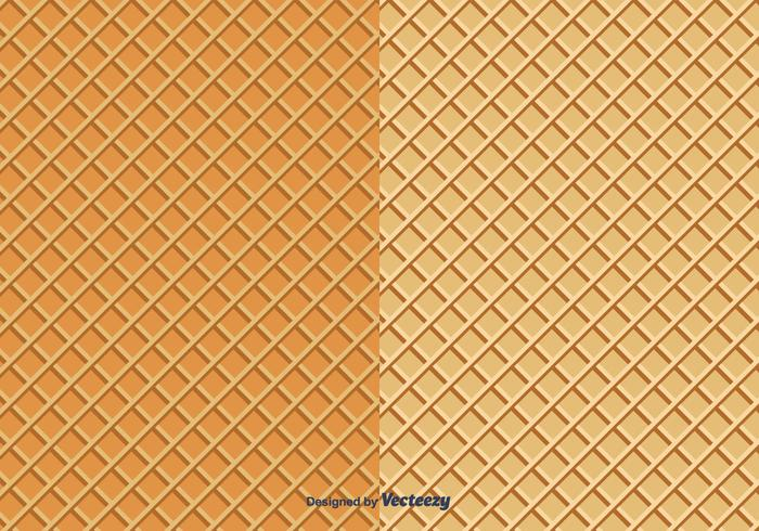 Waffles Vector Pattern