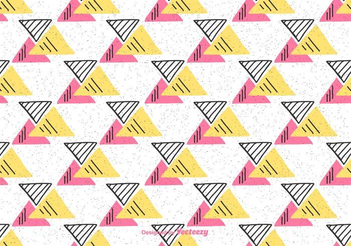 Fondo del triángulo geométrico