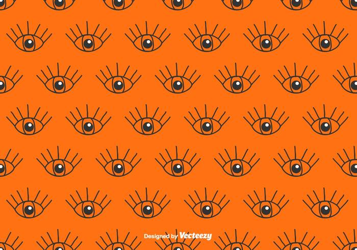 Eye Vector Pattern