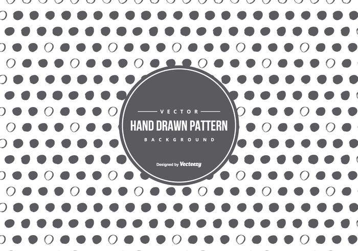 Cute Hand Drawn Style Pattern Background