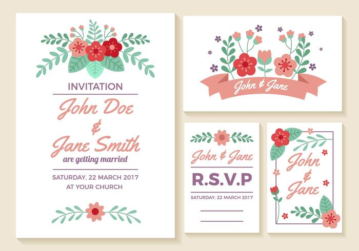 Wedding invitation cards vector download free vector art stock wedding invitation cards vector stopboris Image collections