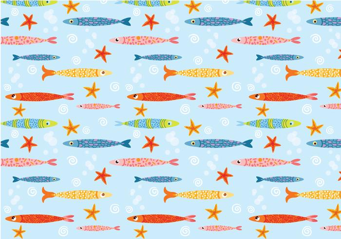 Funky cute fish pattern vector download free vector art stock funky cute fish pattern vector voltagebd Gallery
