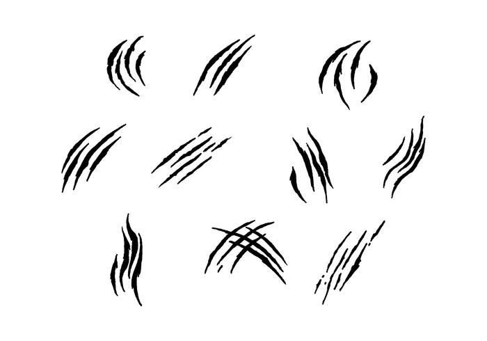 Free Scratch Marks Vector