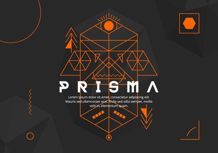 Antecedentes Prisma vector