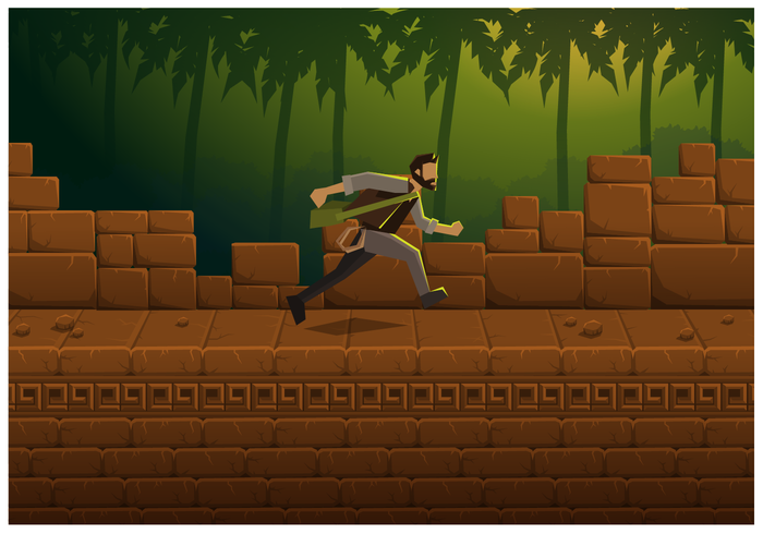 Free Illustration Jungle Game Vector