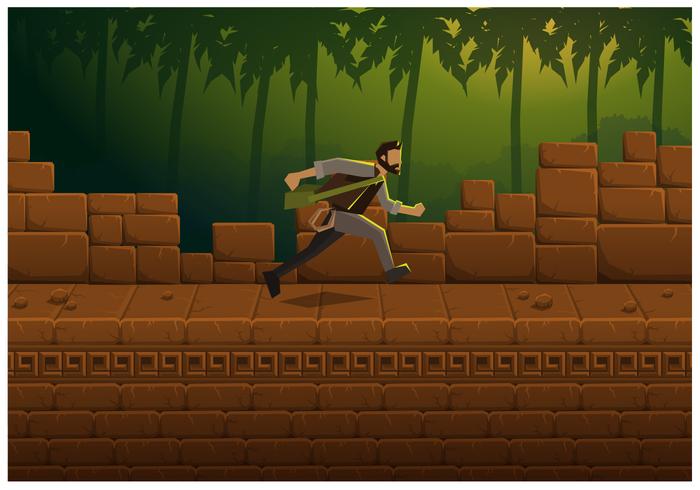 Ilustração vetorial livre Jogo da selva
