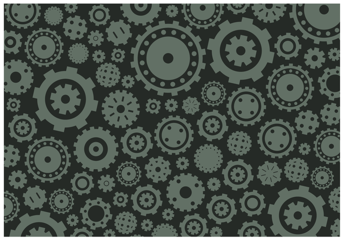 Free Background Gears Vector