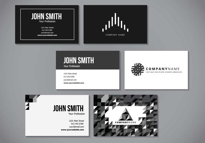 Minimalist Elegant Name Card Design
