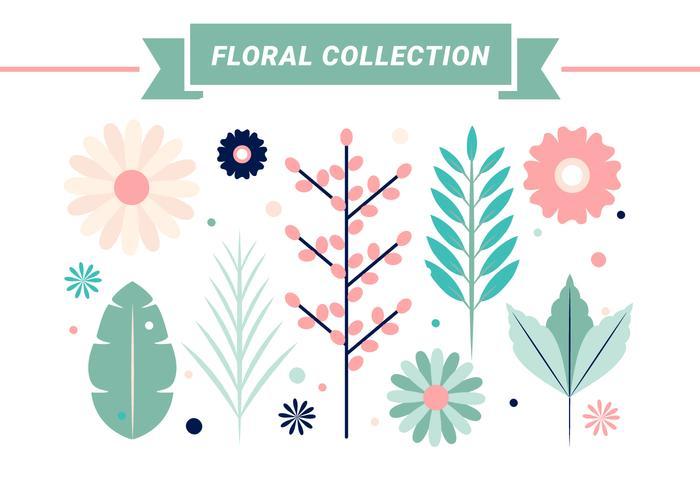 Free Spring Flowers Vector Design