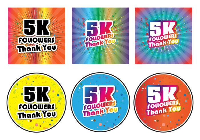 5K Followers Spring