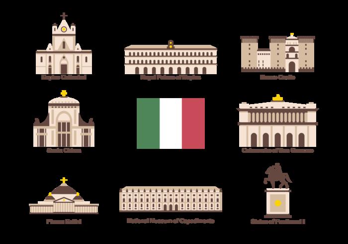 Napoli Icons Vector