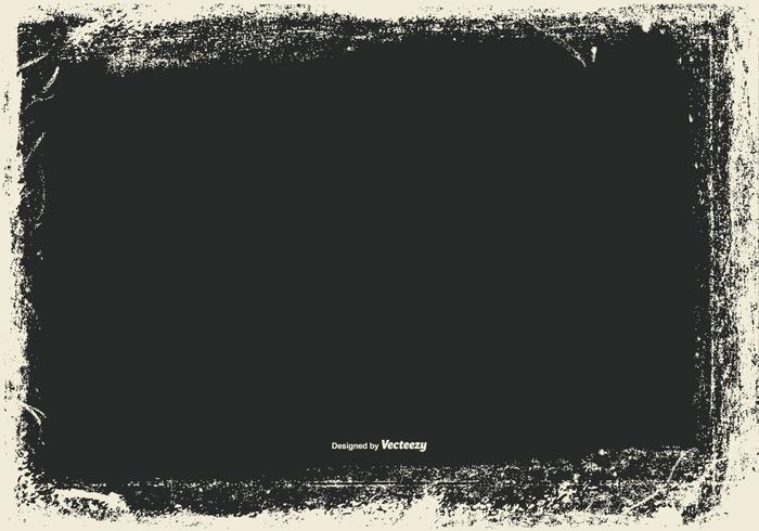 Vector Grunge Frame Background