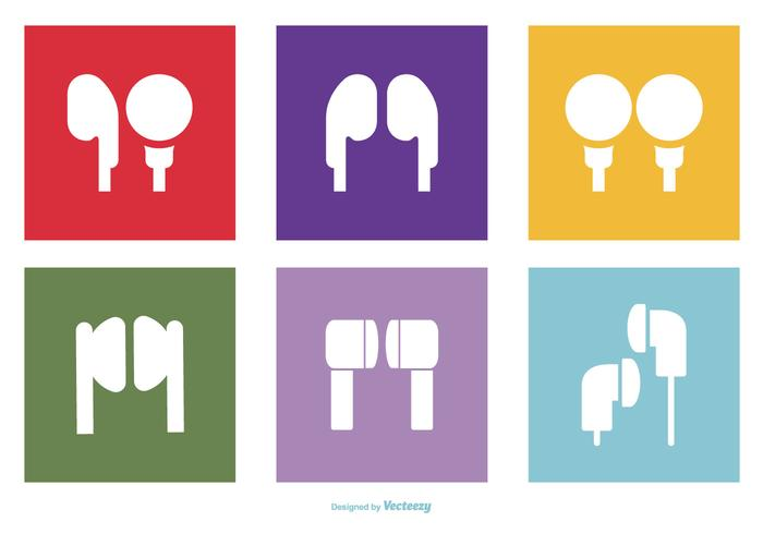 Headphone/Earbuds Icon Collection