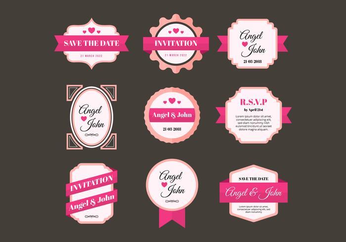 Free Wedding Frames Vector