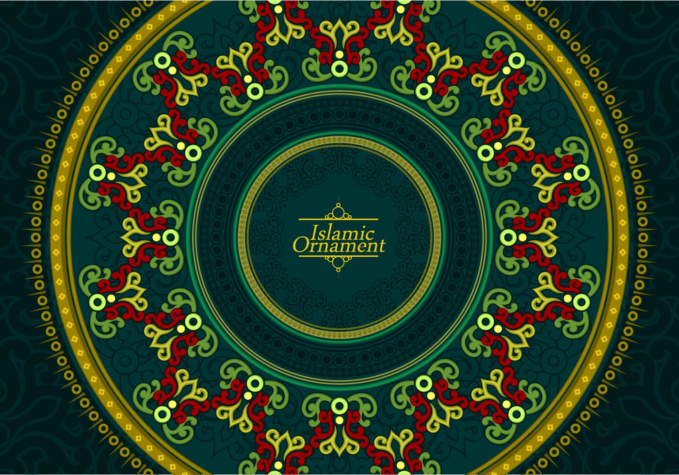 Islamic Ornament Free Vector Download Free Vector Art