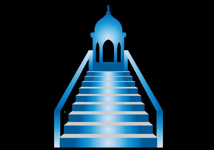 Minbar Mosuqe Pulpit Vector