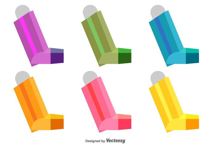 Vector Asthma Icons