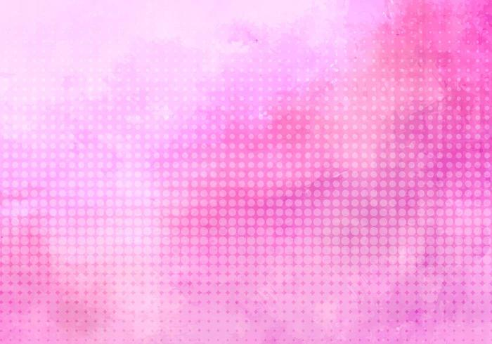 Free Vector Pink Halftone Background