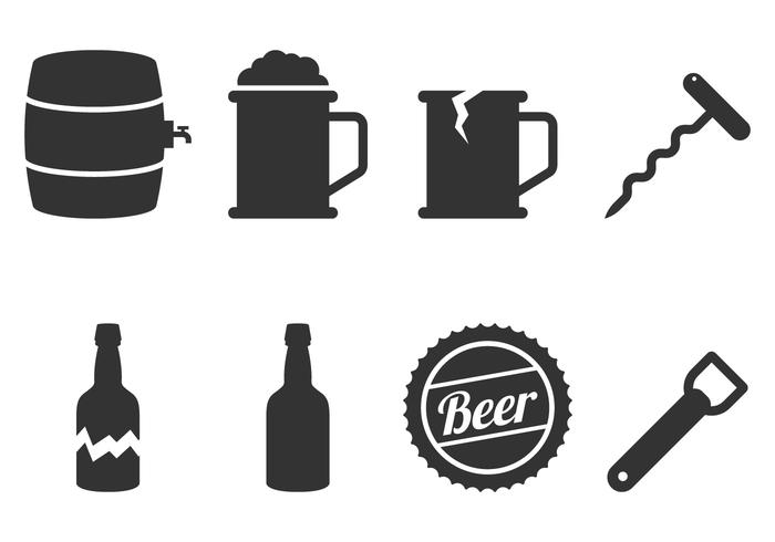 Beer Icon Vectors