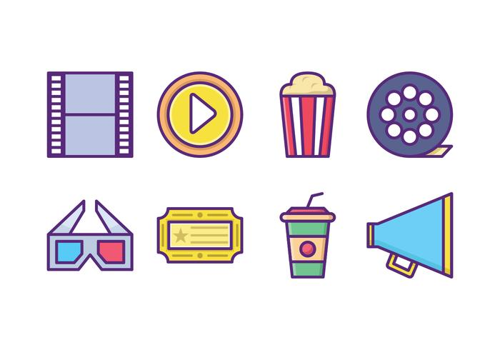 Gratis Movie Icon Pack vector
