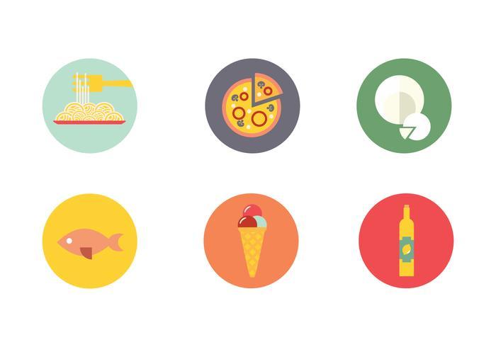 Napoli Food Drink Icon Vector