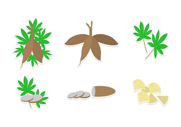 Cassava Vector Set