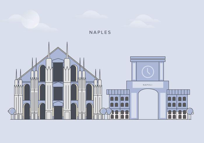 Vector Naples City Marcos