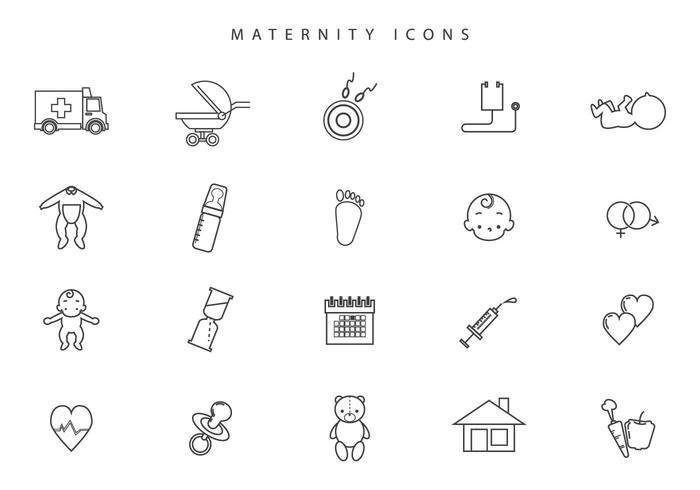 Vecteurs de maternité gratuites