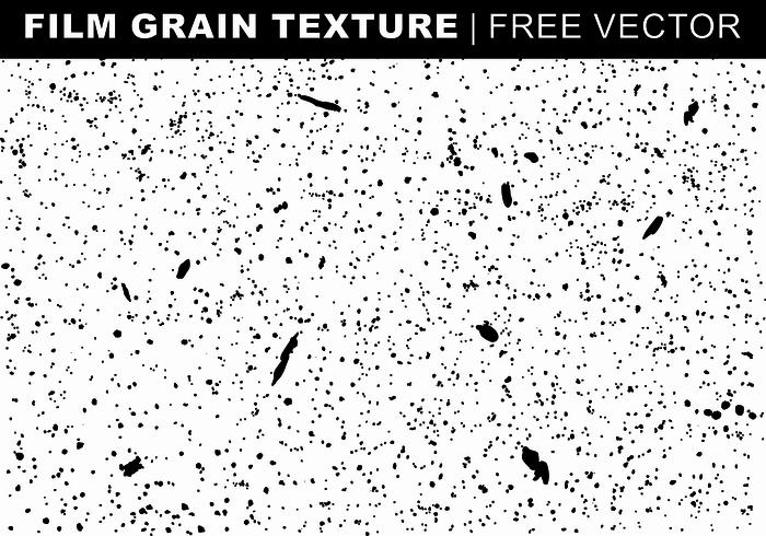 Film Grain Texture Free Vector